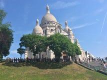 Härliga Montmartre Royaltyfri Fotografi