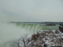 Härliga Niagara Falls på Kanada Fotografering för Bildbyråer