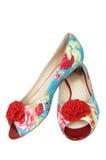 härliga nya skor Royaltyfria Foton