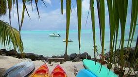 Härliga och färgrika Bora Bora Royaltyfri Foto