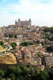 Härliga och historiska Toledo, Spanien Arkivbild