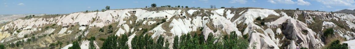 Härliga och mystiska Cappadocia Royaltyfria Bilder