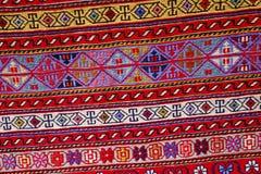 Härliga orientaliska antika persiska mattor Arkivbilder