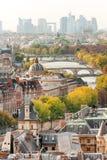 Härliga Paris i nedgången Royaltyfri Fotografi