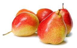 härliga pears Royaltyfri Fotografi