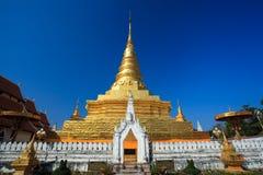 Härliga Phra som Chae Haeng, Nan landskap, Thailand Arkivbilder