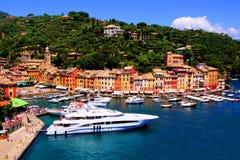 Härliga Portofino Fotografering för Bildbyråer