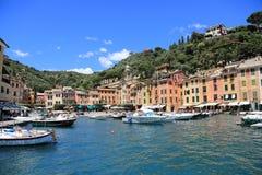 Härliga Portofino, Italien Royaltyfri Foto