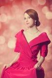 Härliga rödhårig mankvinnor. Royaltyfri Fotografi