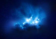 Härliga Rich Star Forming Nebula royaltyfri illustrationer