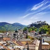 Härliga Salzburg, Österrike Royaltyfri Bild