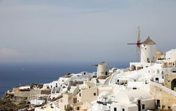 Härliga Santorini Arkivbilder