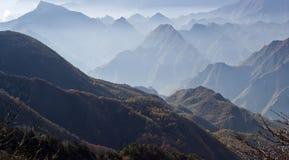 Härliga Shennongjia berg landskap Royaltyfri Fotografi