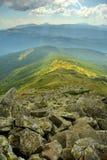 Härliga sikter av bergen Royaltyfri Foto
