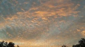 Härliga sikter av himmel Arkivfoton