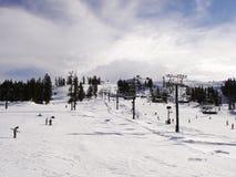 Härliga Ski Range Royaltyfri Bild