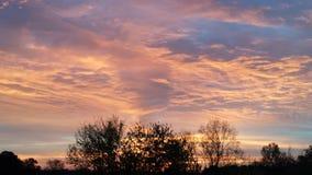 Härliga Skies royaltyfri fotografi