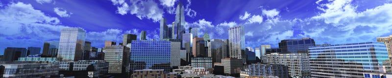 Härliga skyskrapor Royaltyfria Foton