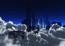 Härliga skyskrapor Royaltyfri Fotografi