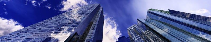 Härliga skyskrapor Arkivfoton