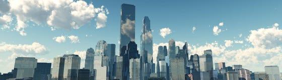 Härliga skyskrapor Royaltyfria Bilder