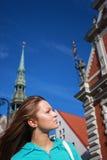 härliga städer mest gammala en riga royaltyfri bild