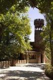 Härliga ställen i Quinta da Regaleira Sommarlopp i Portugal Arkivfoto