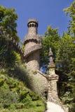 Härliga ställen i Quinta da Regaleira Sommarlopp i Portugal Royaltyfri Fotografi