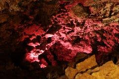 härliga stenar för grottaiskungur Arkivbild