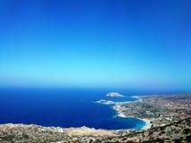 Härliga stränder av Lefkos, Karpathos ö, Grekland 02 fotografering för bildbyråer