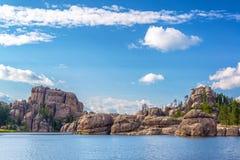 Härliga Sylvan Lake Royaltyfri Foto