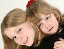 härliga systrar Royaltyfri Fotografi