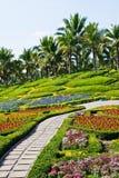 härliga trädgårdar Royaltyfri Fotografi