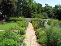 härliga trädgårdar royaltyfri foto