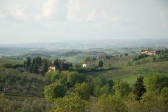 härliga tuscany arkivfoton