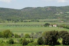 härliga tuscany royaltyfria bilder