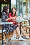 Härliga tvilling- systrar i Paris, Frankrike Royaltyfri Fotografi