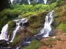 Härliga vattenfall (Kenya Afrika) arkivfoto