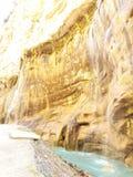 härliga vattenfall, natur, som det är arkivbild