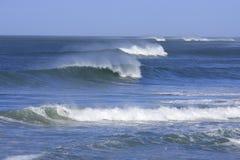 härliga waves Arkivfoto