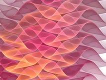 härliga waves för bakgrund Royaltyfri Foto