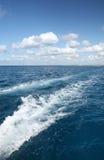 härliga waves för liggandehavsky Royaltyfri Foto