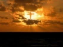 Härlighet till guden Arkivbild