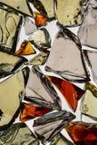 Härligt abstrakt brutet exponeringsglas Royaltyfri Foto
