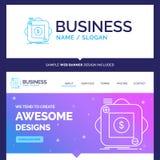 Härligt affärsidémärkesnamnköp, lager, app, appl vektor illustrationer