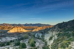 härligt Andalusia berg, Spanien arkivfoto