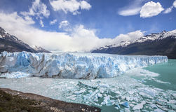 Härligt av en glaciär. Royaltyfri Foto