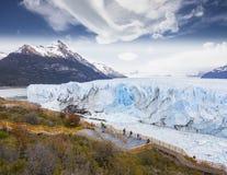 Härligt av en glaciär. Royaltyfria Foton