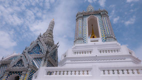 Härligt av thai konstarkitektur Arkivfoton