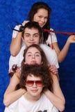 härligt barn för flickamensstående Fotografering för Bildbyråer